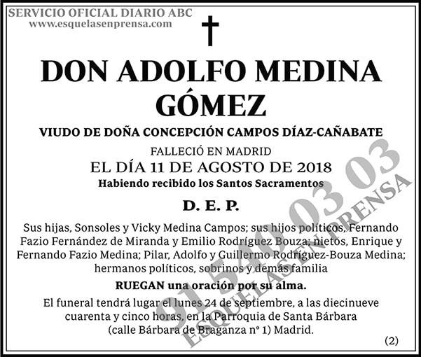 Adolfo Medina Gómez